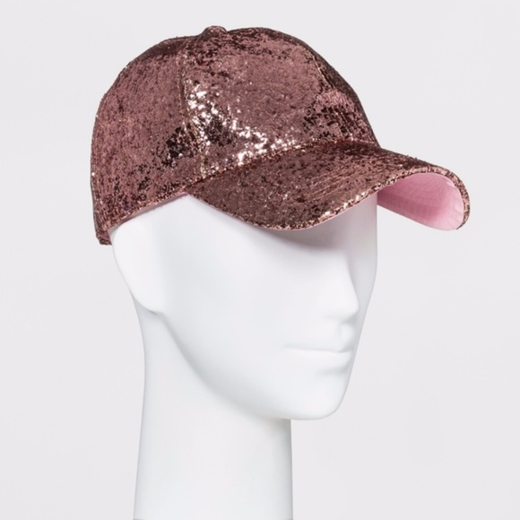 1088130d918 Pink Glitter Baseball Hat - Mossimo. Boutique. Mossimo Supply Co.